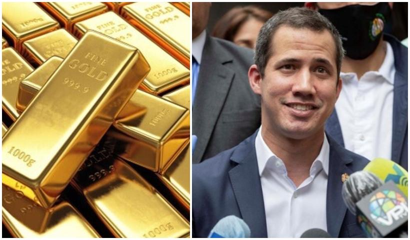 Guaidó: reservas de oro se quedarán en el Banco de Inglaterra